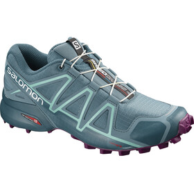 Salomon W's Speedcross 4 Shoes bluestone/mallard blue/dark purple